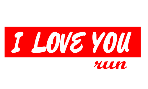 I LOVE YOU run